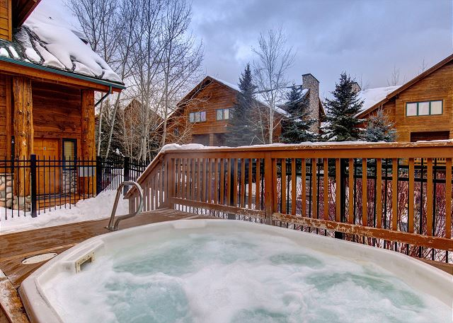Community Hot Tub - Just Steps from the Condo!
