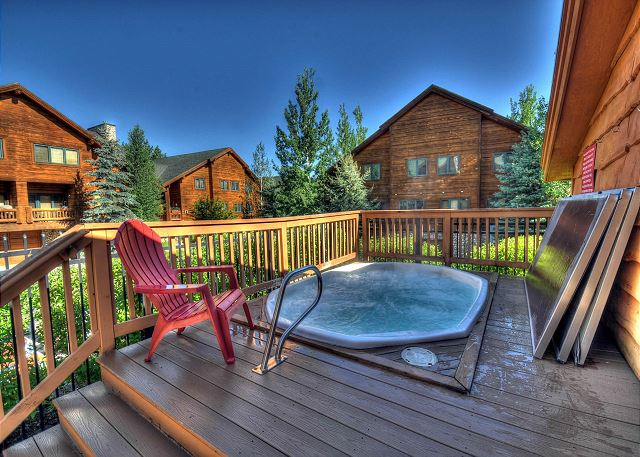 Two Large Hot Tubs - Just steps from the condo