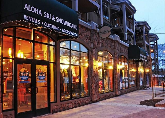 Alhoa Ski and Snowboard Shop at Westgate Park City