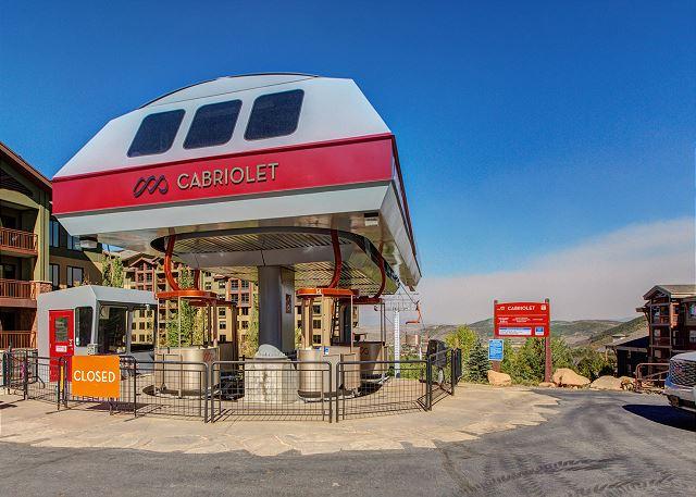 Cabriolet Lift - Canyons Resort, Park City, Utah
