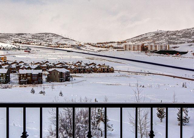 Balcony Views! Wintertime