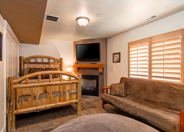 Bear Hollow Village 5431 - Park City, UT - Lower Level Bedroom