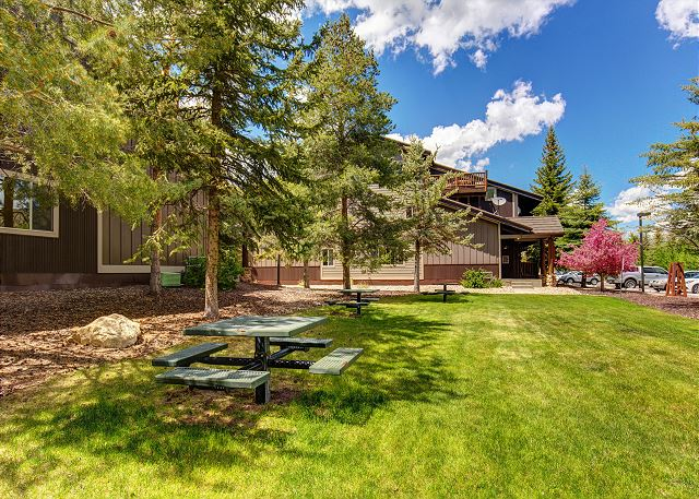The Prospector Condos Picnic Area