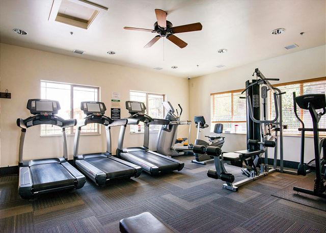Bear Hollow Fitness Room