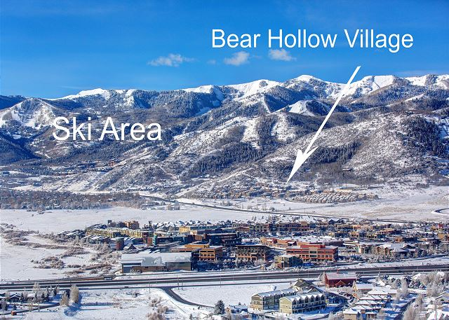 Bear Hollow Village - Near Skiing!