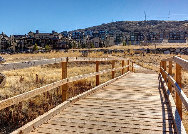 Retreat at Jordanelle Community Walking Trails