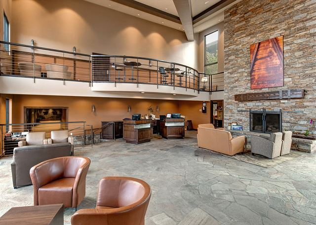 Prospector Lobby with 24-hour check in.