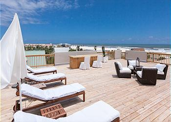St. Augustine House rental - Exterior Photo - Your own rooftop sundeck, with lounging space for all!