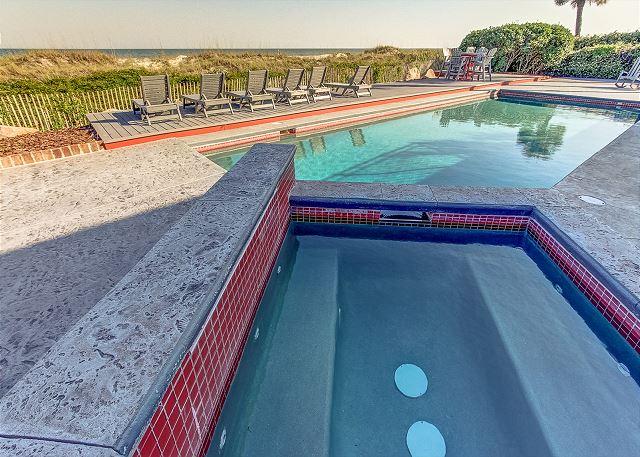 Spa & Pool Area