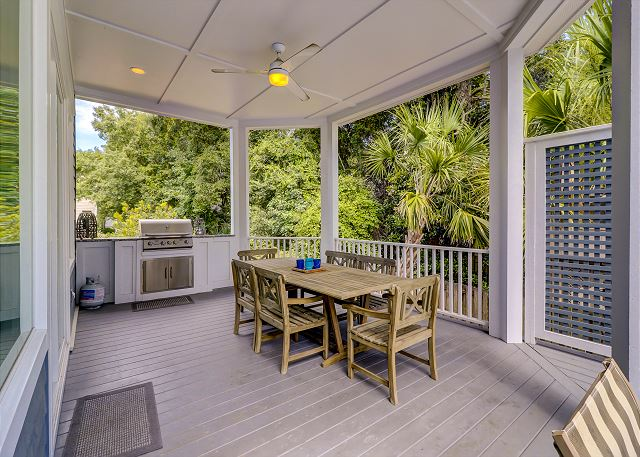 Outside Dining & Grilling Area  Off Kitchen/Double Dining Area
