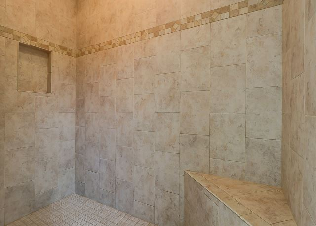 King Suite Walk In Shower