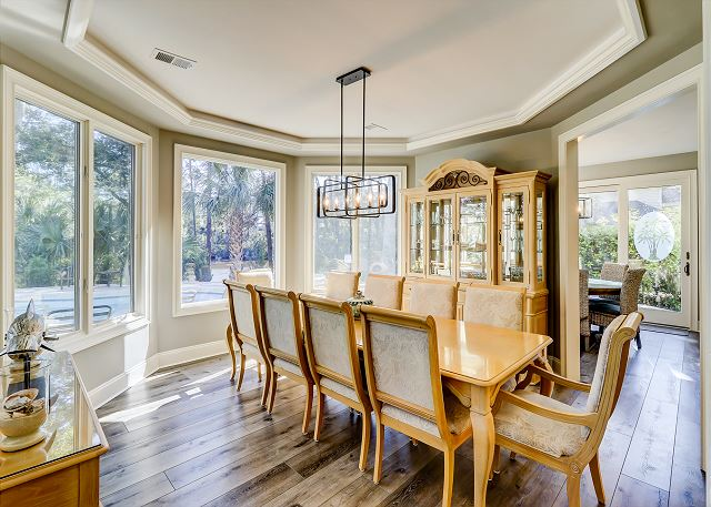 Double Dining Area