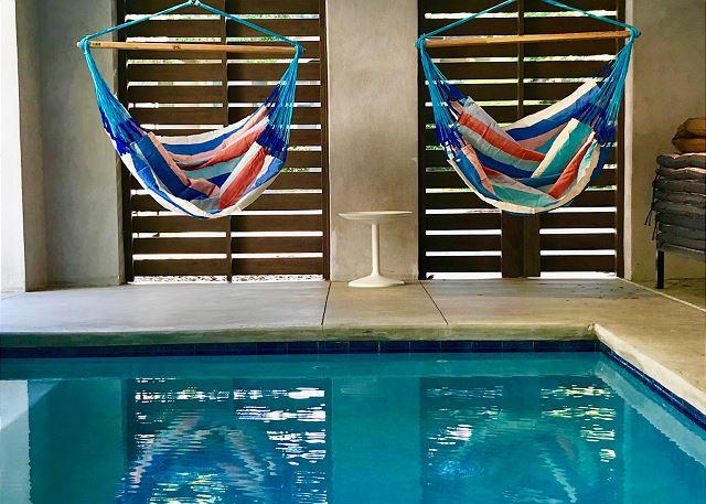 Covered Pool Area/Hammocks