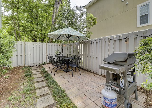 Grilling and Outdoor Dining Area