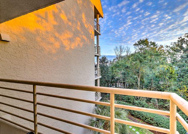 Guest Suite Patio View
