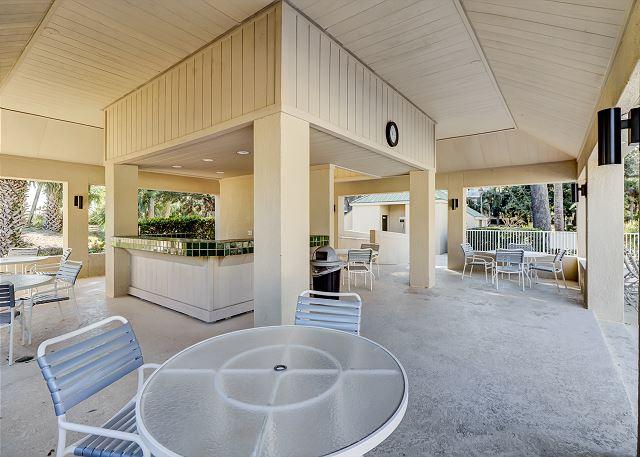 Covered Pool Pavillion