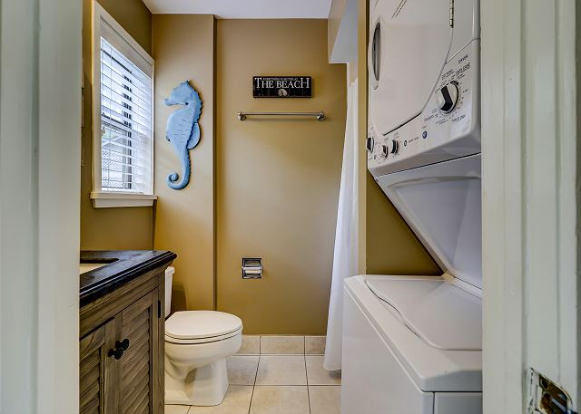Full Hall Guest Bathroom & Laundry