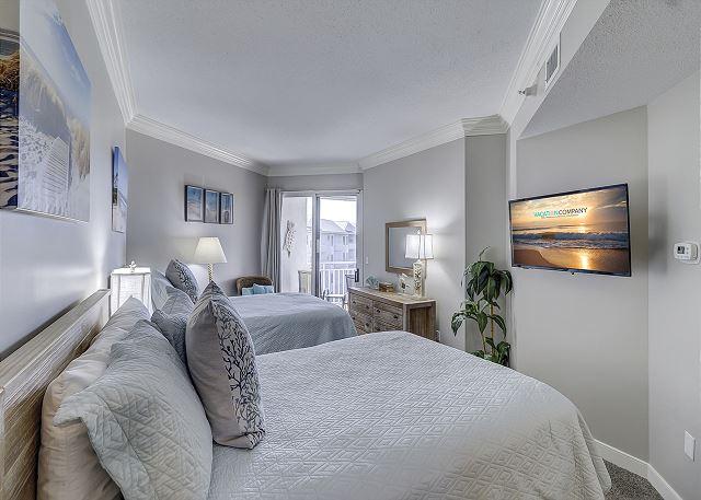 Guest Suite - 2 Doubles - Sleeps 4