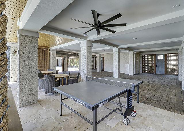 Ping Pong/Garage Parking