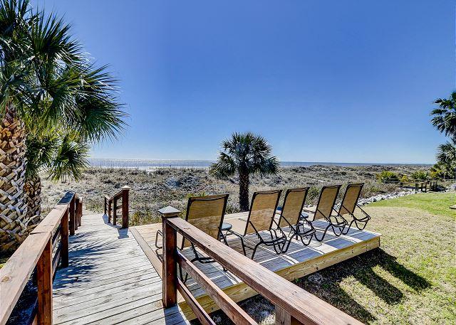 Beach Access & Sundeck