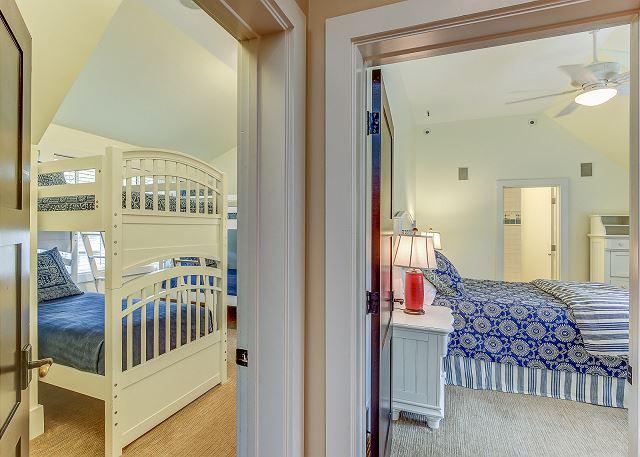 Guest Bunk Room & Queen Suite