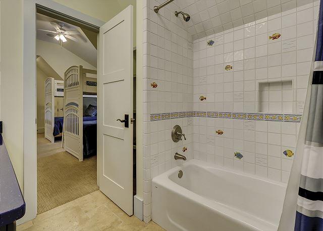 Bunk Suite Full Bathroom