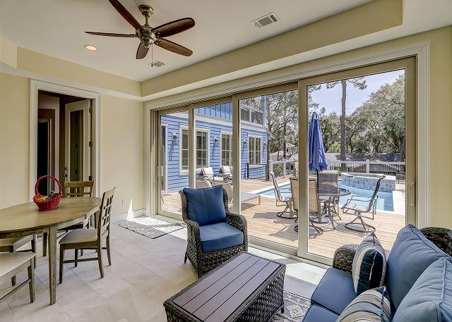 Sun Porch off 1st Floor Master Suite