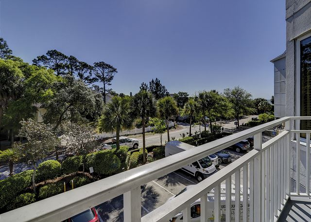 King Suite Patio View