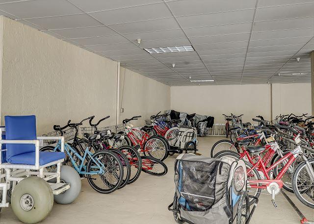 Garage Bike Area