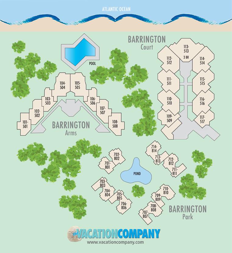 712 Barrington Park The Vacation Company