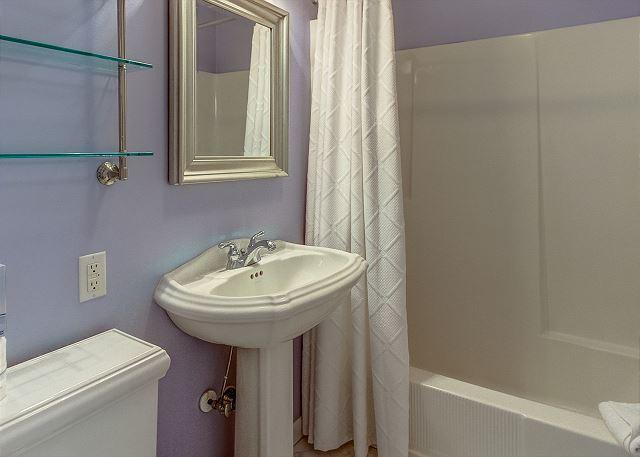 Hall Full Guest Bathroom