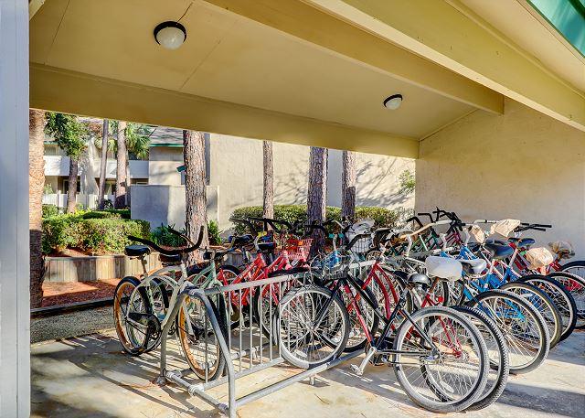 Outside Bike Area