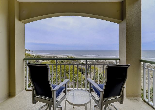 King Suite Patio & View