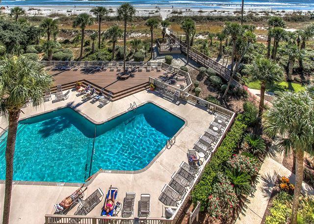 Pool & Beach Access