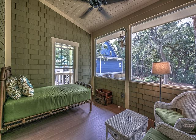Screened Hemingway Porch