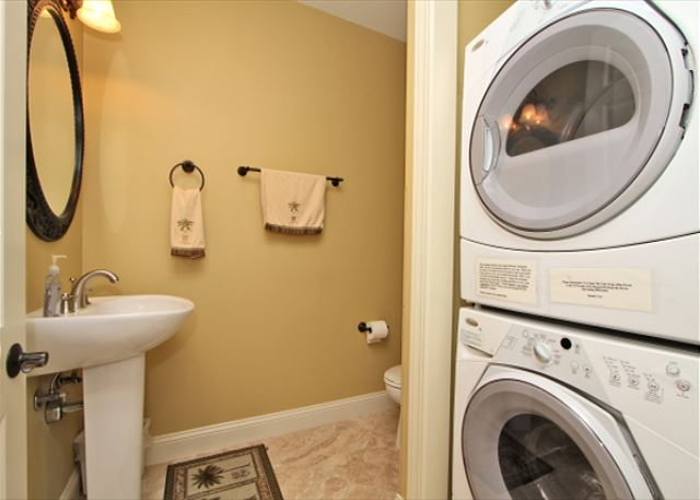 1/2 Bathroom & Laundry