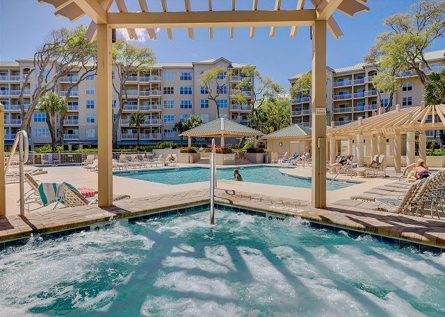 Spa and Main Pool