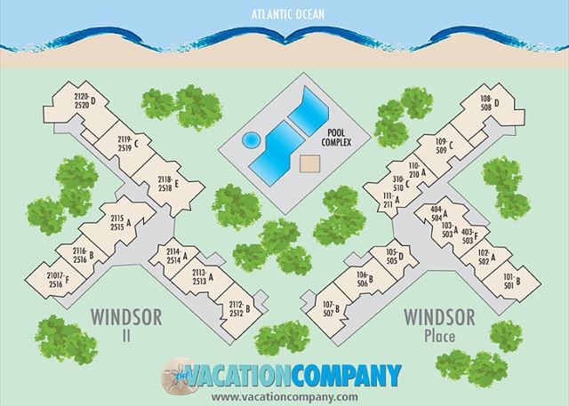 Windsor Place Map