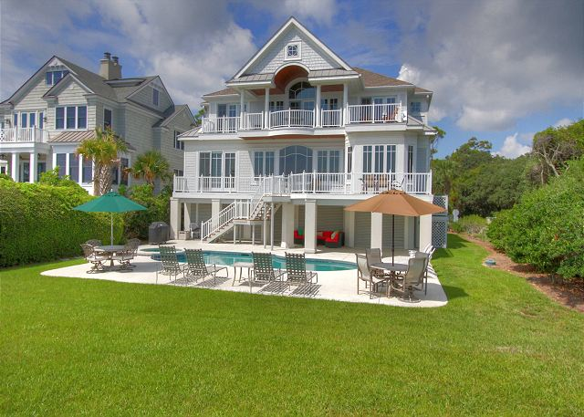 33 Dune Lane North Forest Beach Oceanfront Home Vacation Rental Hilton He