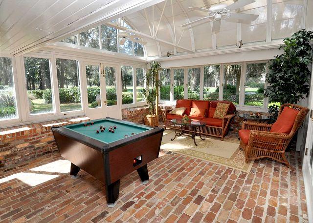 Mini Pool Table - Carolina Room