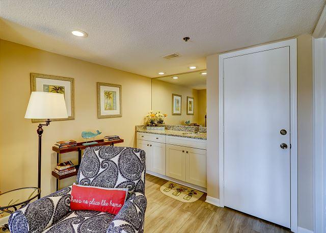 King Suite Vanity Area