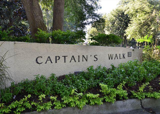 Captains Walk Entry