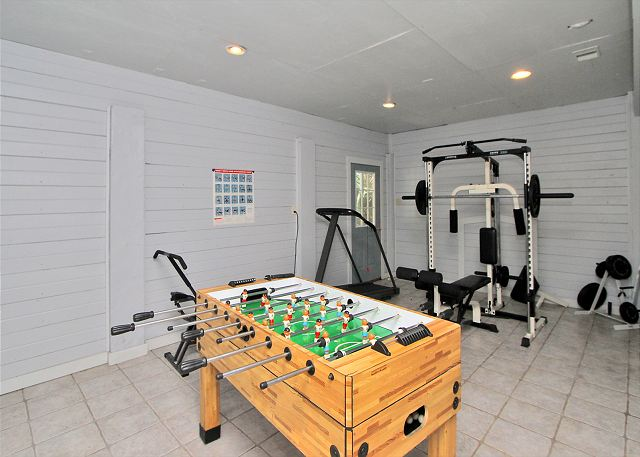 Game Room/Fitness Room