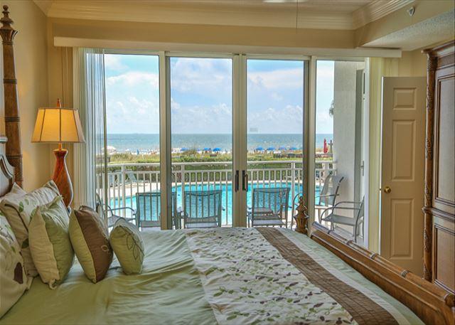 Oceanfront King Bedroom View