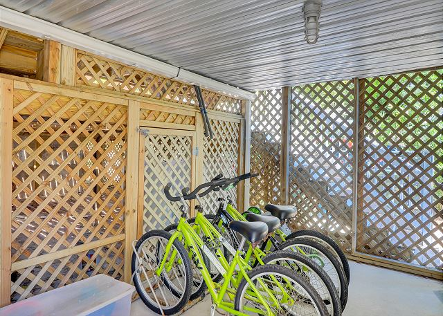Included w/ your Rental - 4 Bikes