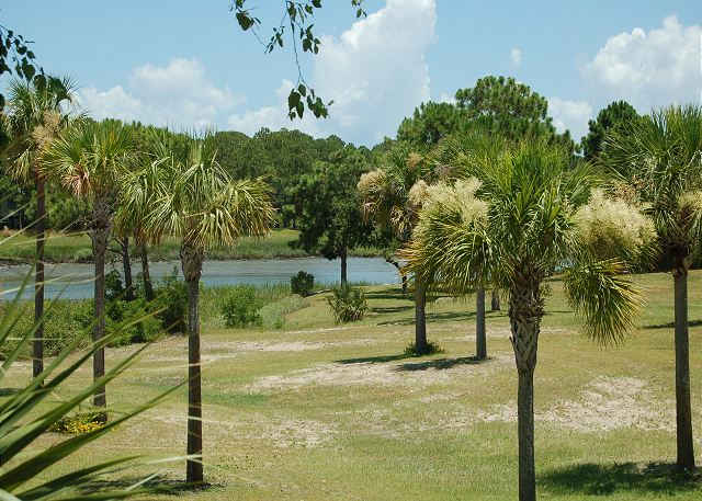 View from villa of Braddock Cove