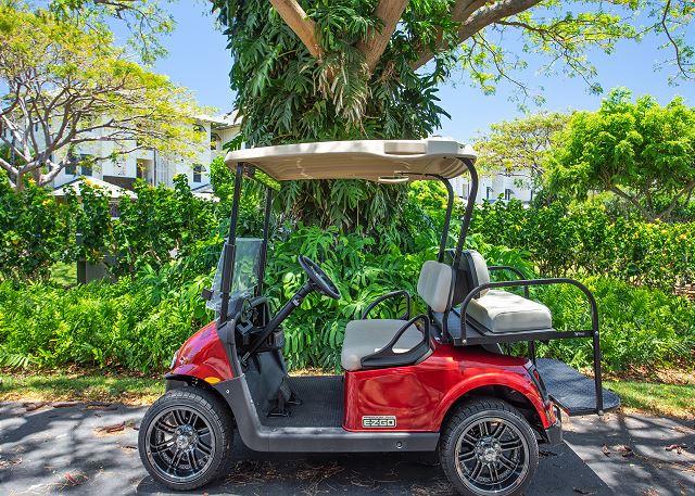 kolea golf cart