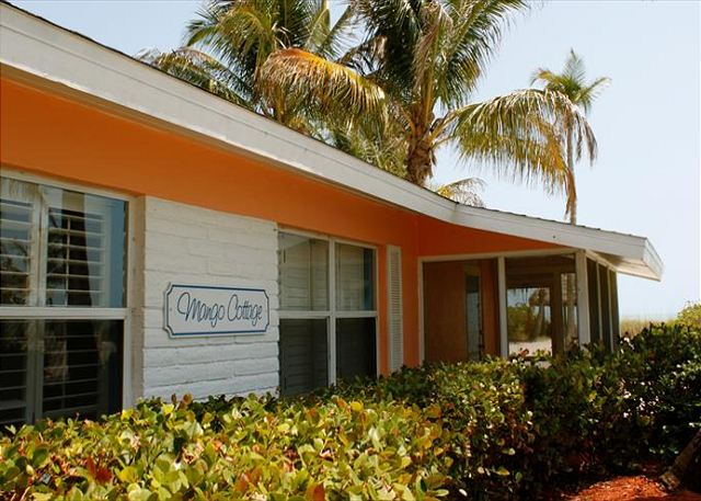 Mango 102 has a direct view of the gulf. Walk out of your front door and right on to the beach.