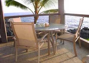 Kona Surf & Racquet Tropical, oceanfront paradise. Perfect vacation condo
