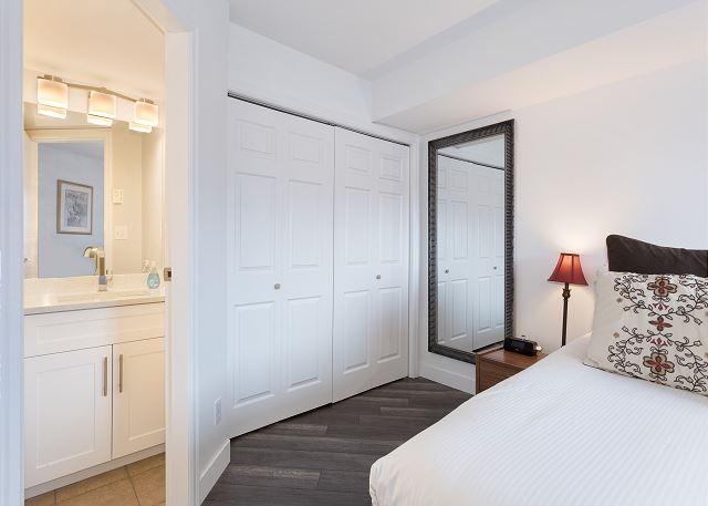 Bedroom open to ensuite